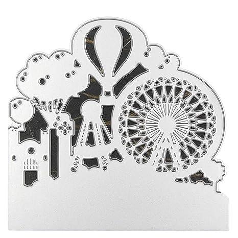 Balloon Metal DIY Cutting Dies Stencils Scrapbooking Photo Album Paper Card Gift