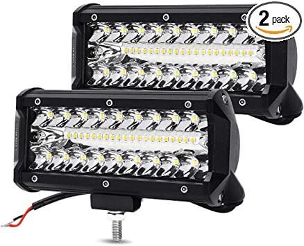 "7/"" 6/"" 5/"" 4/"" inch LED Work Light Bar Flood Spot Pods Driving OffRoad Truck Boat"