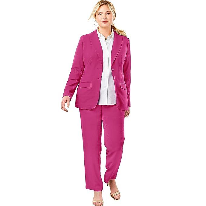 Amazon.com: Jessica London - Traje de pantalón para mujer ...