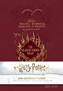 Amazon.com : Harry Potter Monthly Planner 2019 Set - Deluxe ...