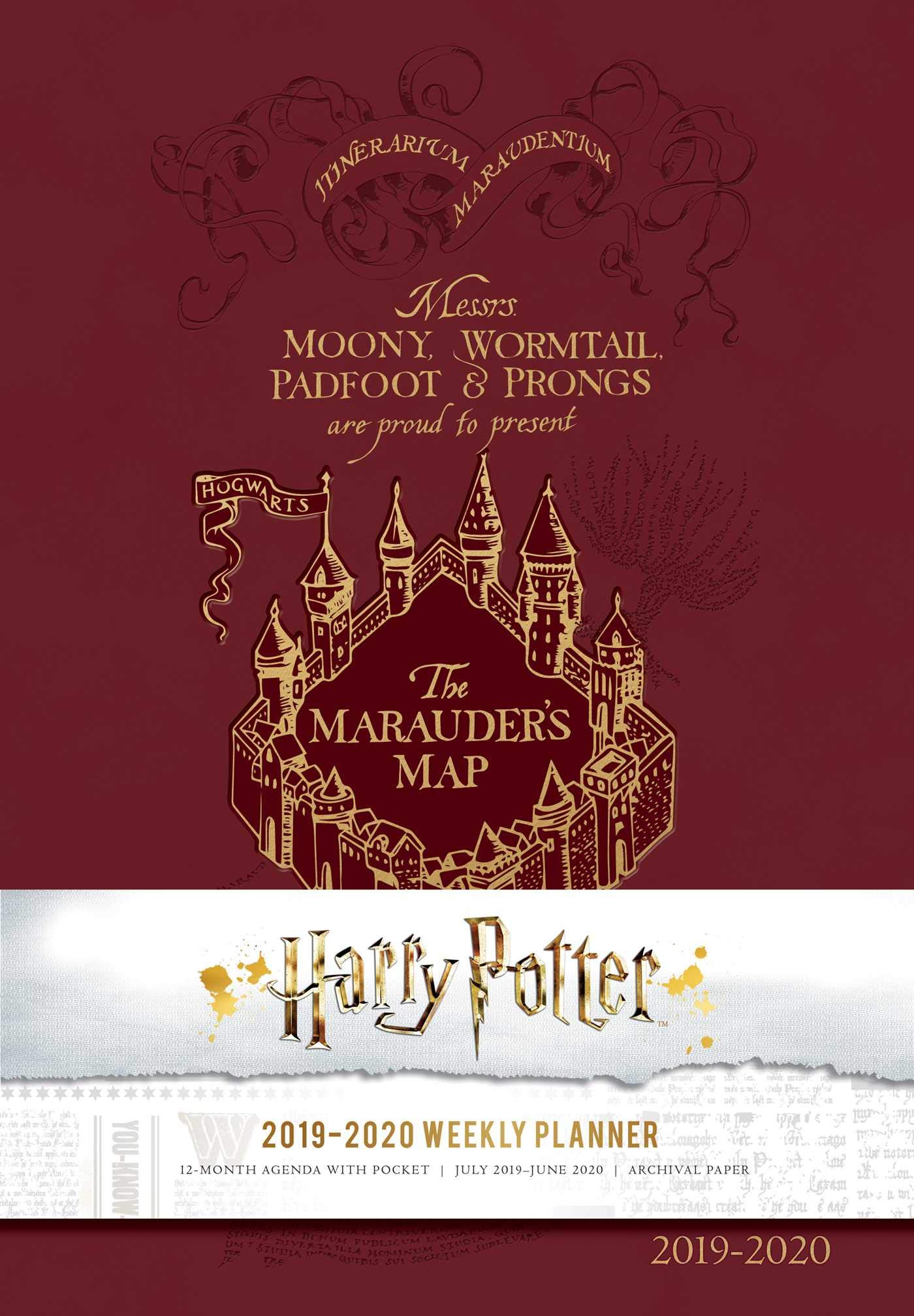 Harry Potter 2019-2020 Weekly Planner: Amazon.es: Insight ...