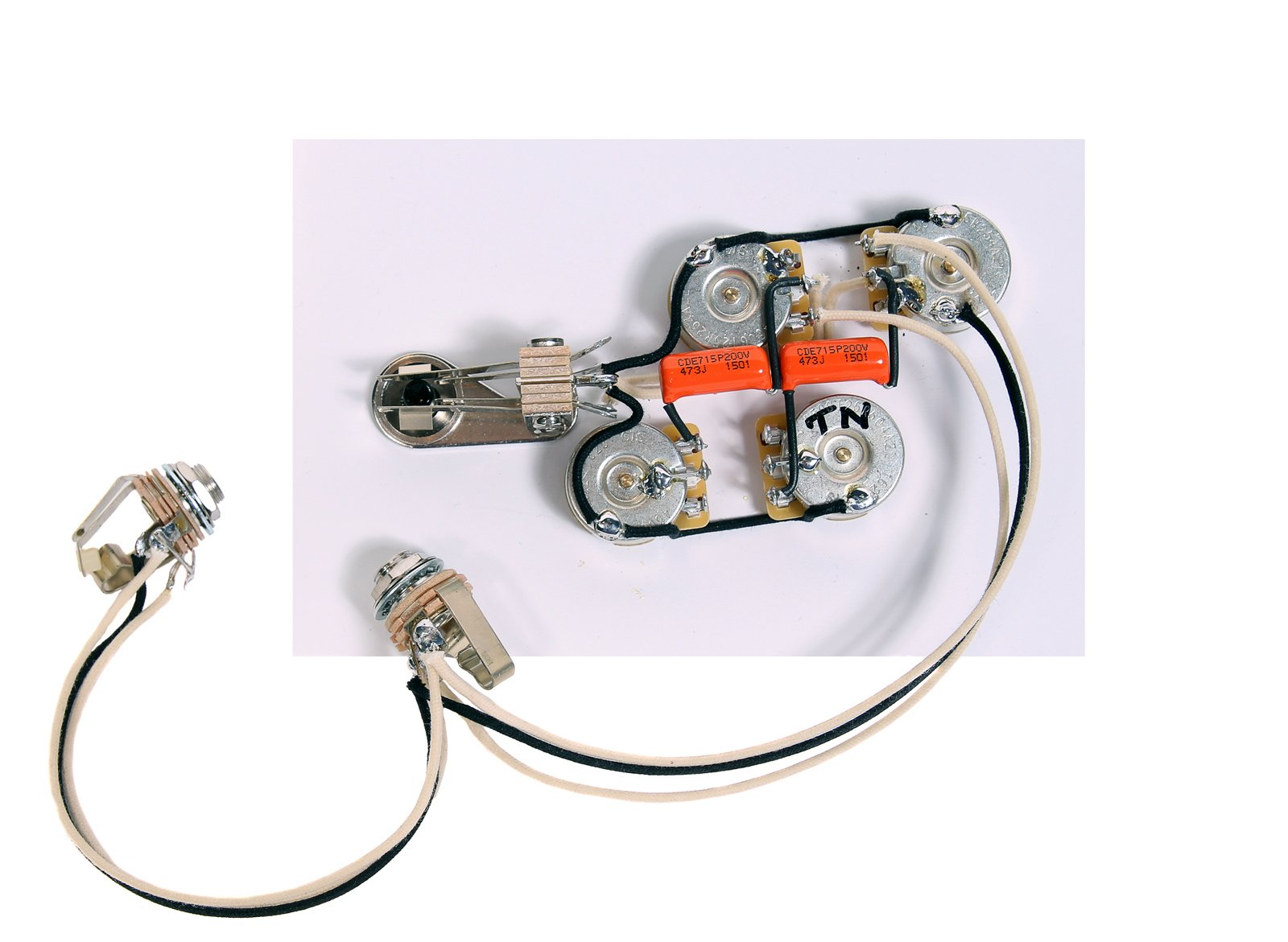 920D Custom Shop Wiring Harness for Rickenbacker 4000 Series Bass Guitar, Stereo by Custom Shop