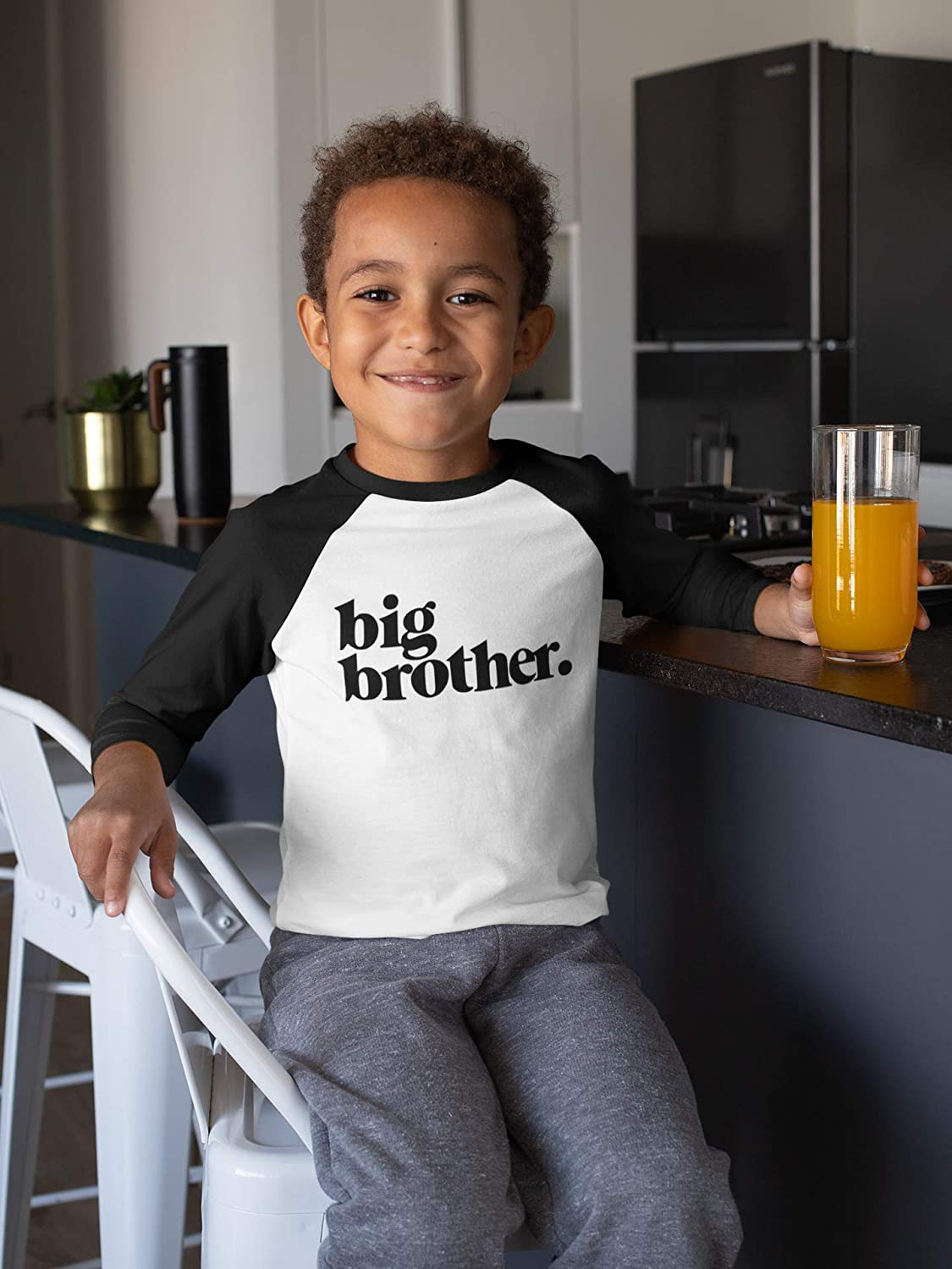 Bold Promoted to Big Brother Sibling Reveal Shirt for Boys Sibling Outfit