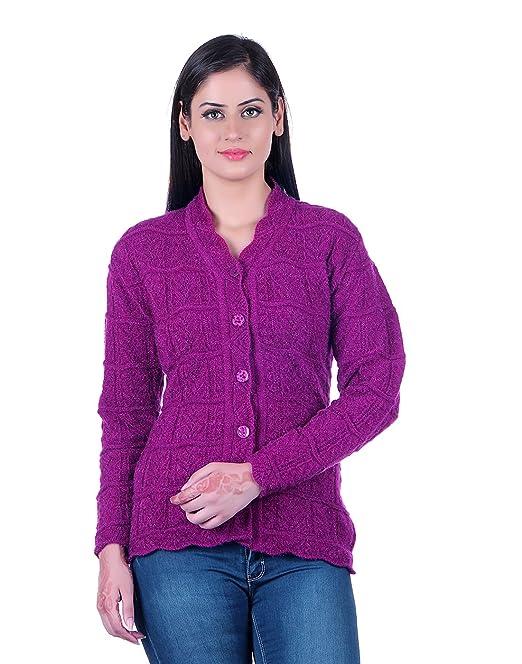 eWools Women\u0027s/Ladies/Girls Woolen Winter wear Cardigan (Self Design)