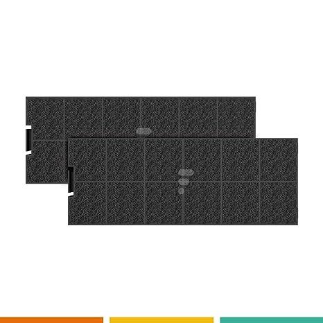 Fac FC40 - Juego de 2 filtros de carbón activo para campana ...