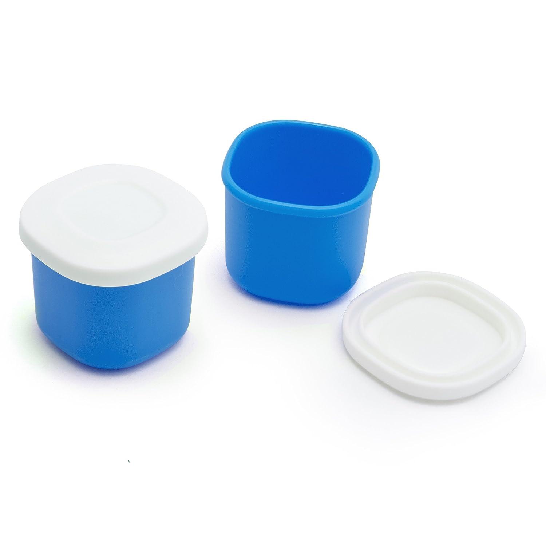 Salse Bentgo dose (set di 2), 40 ml, erogatore sicuro, per entrare in Bento Box contenitore Bentgo grigio