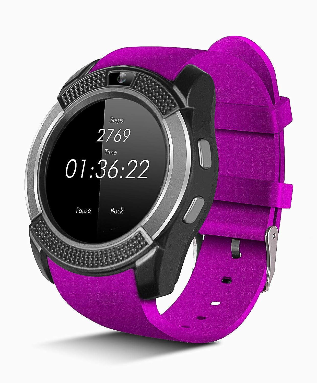 Smartwatch Reloj Inteligente con SIM, Pulsera de Actividad, Reloj ...
