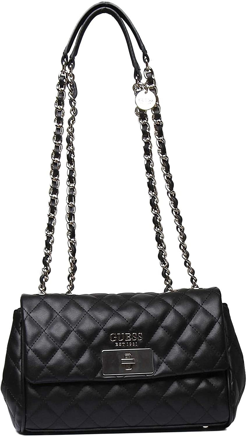 Guess Ryann Shoulder Bag Black in schwarz | fashionette