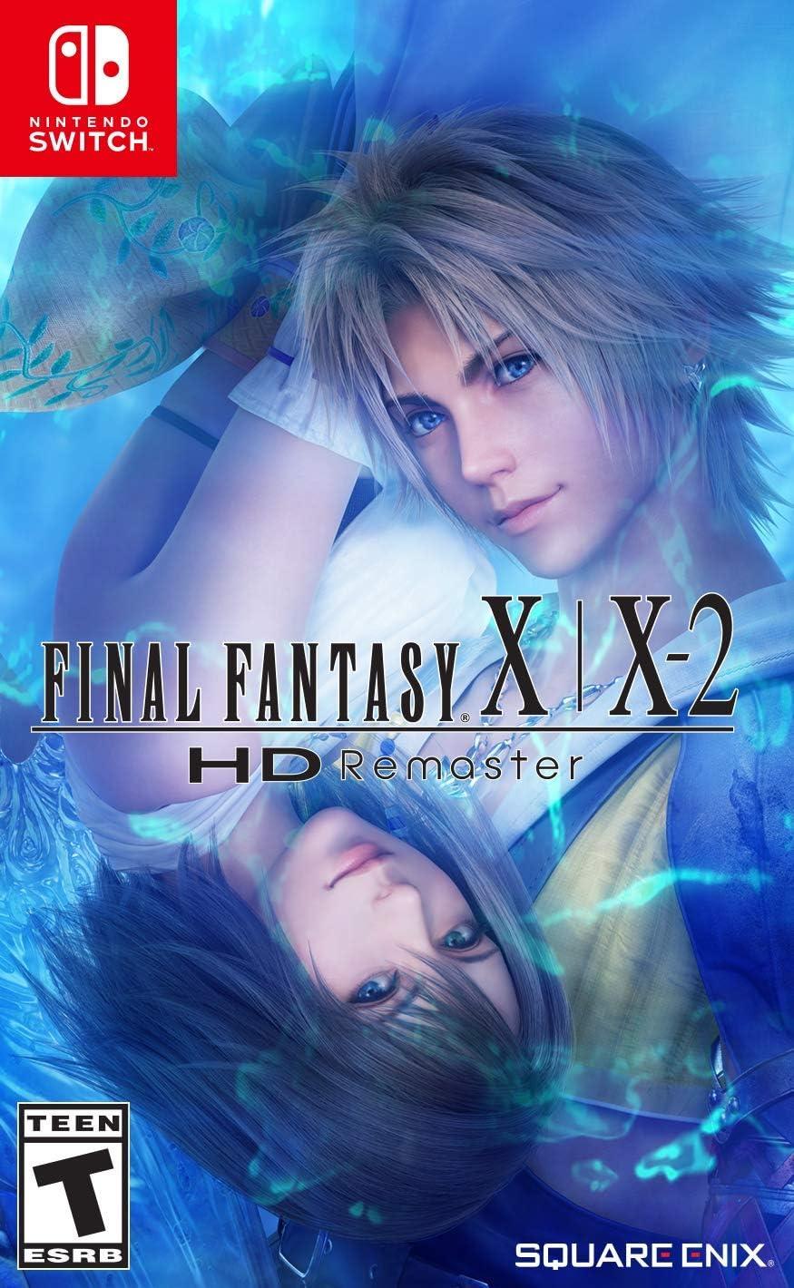Amazon com: Final Fantasy X|X-2 HD Remaster - Nintendo Switch
