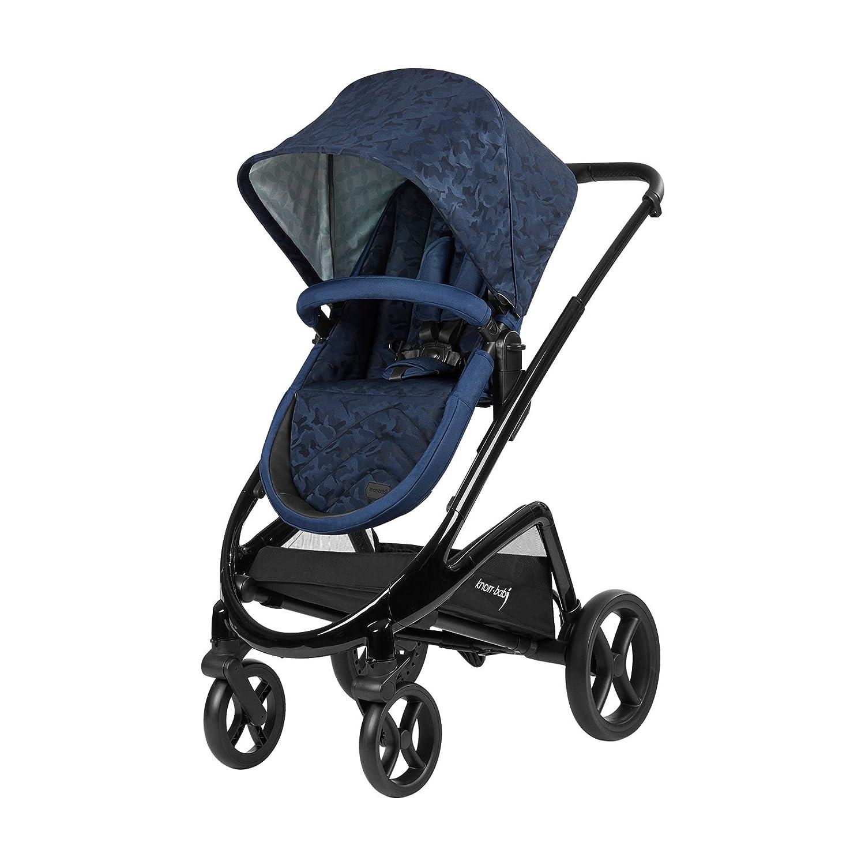Knorr-Baby Premium Kombi-Kinderwagen Dune camouflage-navy