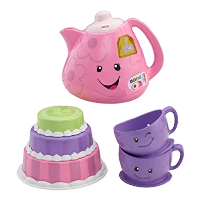 Fisher-Price Laugh & Learn Smart Stages Tea Set: Toys & Games