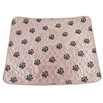 Haofy Perro Pee Pad Reutilizable Impermeable Perro Almohadilla de Pee Cama Lavable Orina Mat para Mascotas