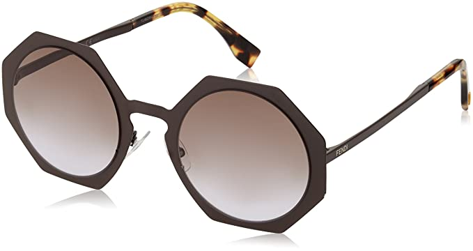 b87abfa87a Image Unavailable. Image not available for. Color  Sunglasses Fendi Ff  152 S 02X3 Semi Matte Brown LW ...