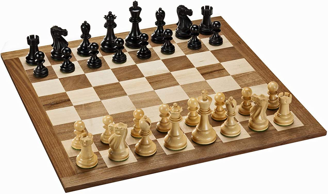 WE Games Staunton Chess - Juego de ajedrez (Madera Maciza de 45,72 ...