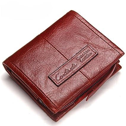 Yamyannie Crédito Tarjetas Billetera Billeteras de Cuero ...