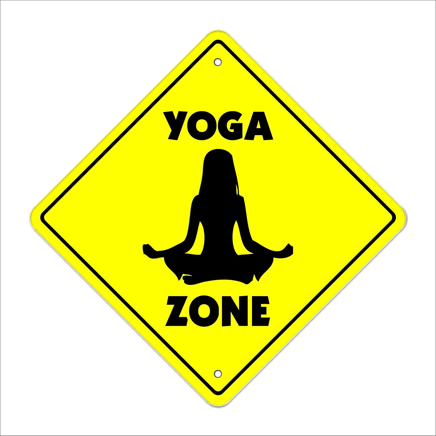 Amazon Com Cortan360 Yoga Crossing Sign Zone Xing 8 Meditate Zen Mat Relaxation Relax Teacher Instr Sticker Decal Home Kitchen