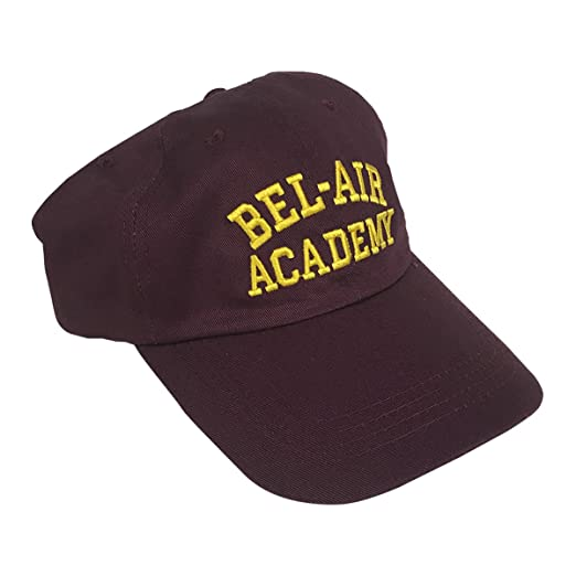Image Unavailable. Image not available for. Color  Bel-Air Academy Baseball  Cap Will Smith Fresh Prince ... 19abfe52a47