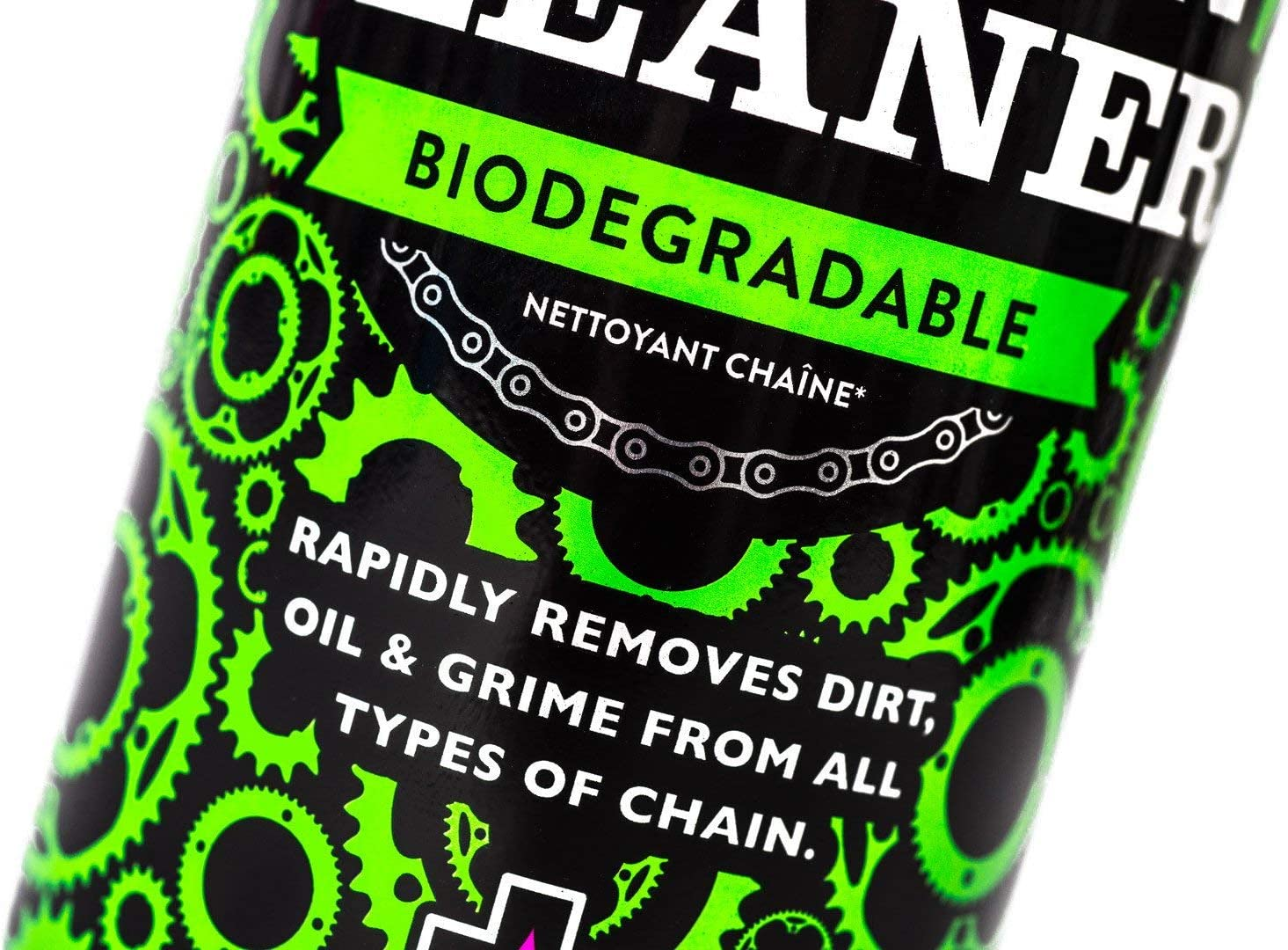 Muc-Off Desengrasante de Cadena Spray Chain Cleaner 400ml: Amazon ...