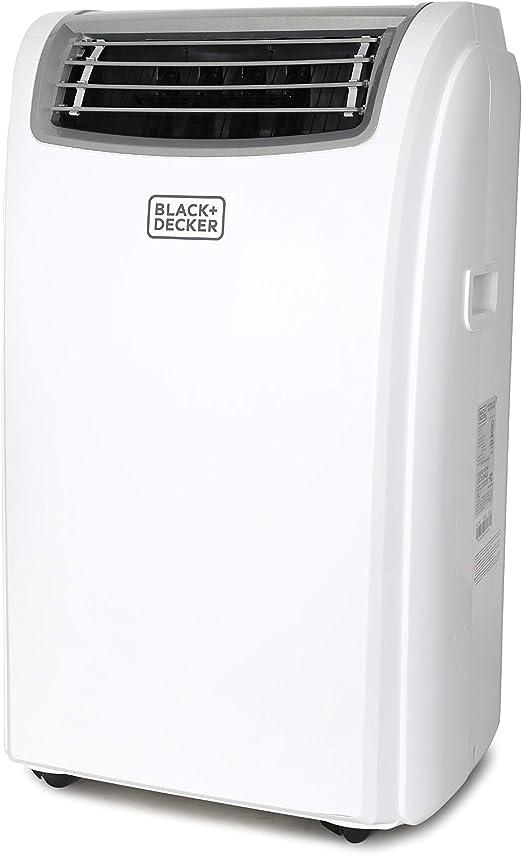 14,000 BTU Black Renewed Decker BPACT14WT Portable Air Conditioner