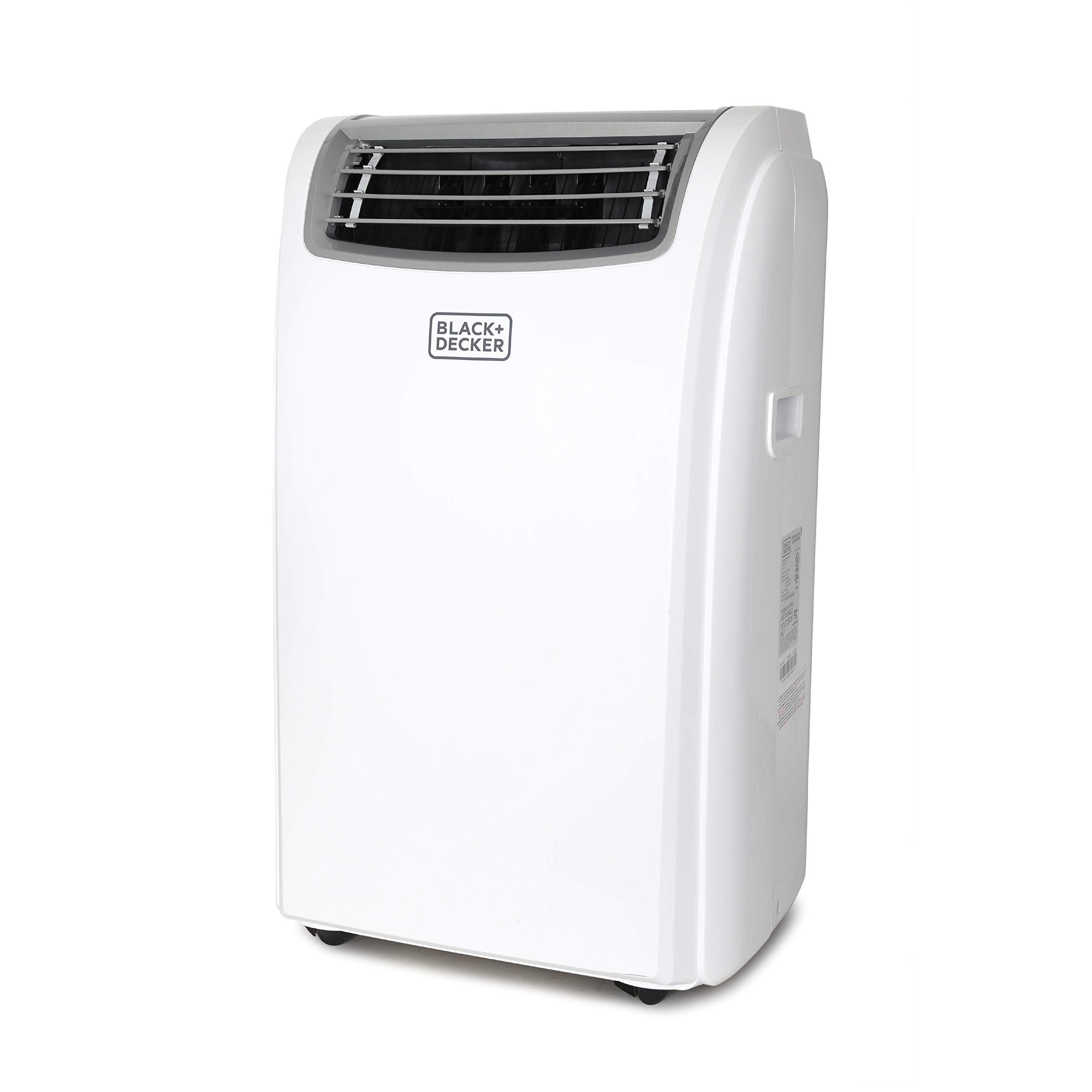 BLACK+DECKER BPACT12WT Portable Air Conditioner, 12,000 BTU, White