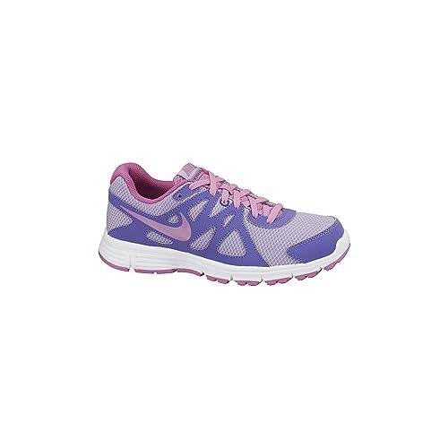 78f47b87f2f Nike Kids Revolution 2 GS Hydrngs Lt Mgnt Prpl Hz White Running Shoe