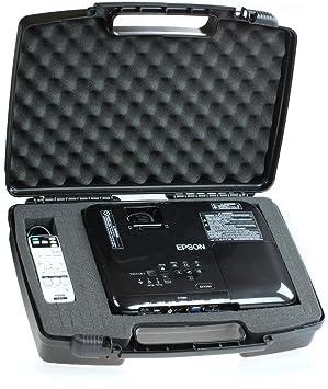 Skywin portátil viajes duro caso para Epson EX7240 Pro 3LCD WXGA proyector Pro inalámbrico