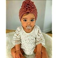 3 Gorritos turbante para bebe niña Gorro