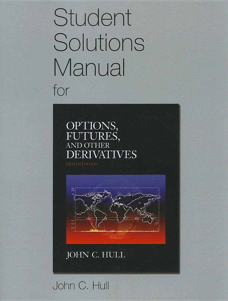 Student Solutions Manual for Options, Futures, and Other Derivatives