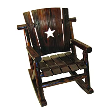 Char Log Lilu0027 Junior Rocker Chair With Star