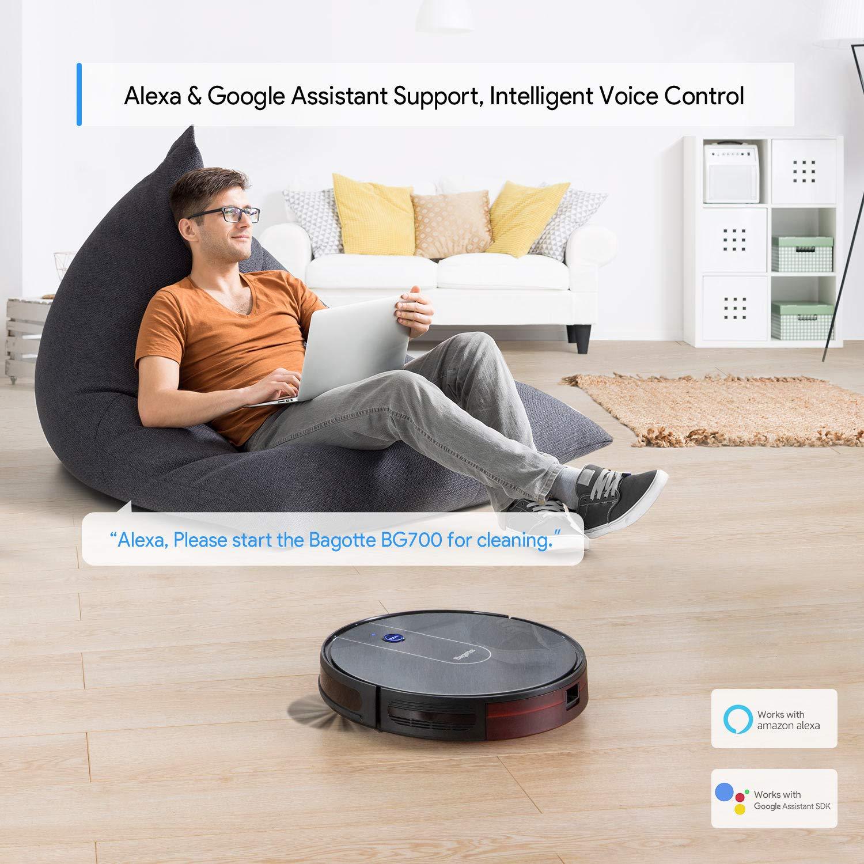 Robot Vacuum - 1600PA Wi-Fi