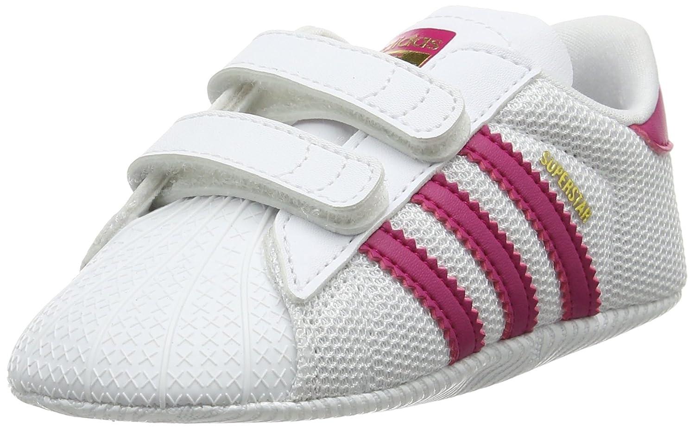 Amazon.com   adidas Originals Superstar Crib White/Bold Pink Mesh 2 M US Toddler   Shoes