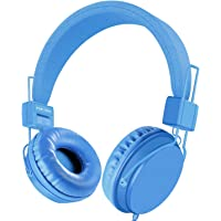EINSKEY Headphones for Kids, Foldable Lightweight Children Headset with Microphone for Boys/Girls