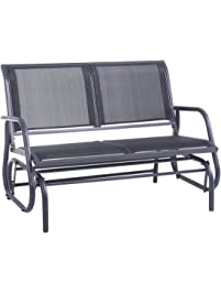 Charming SUPERJARE Outdoor Swing Glider Chair ...