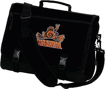 Broad Bay UVA Peace Frog Laptop Bag University of Virginia Peace Frogs Computer Bag or Messenger Bag