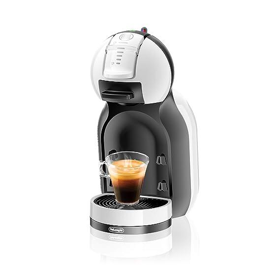 Delonghi Dolce Gusto Mini Me EDG305.WB - Cafetera de cápsulas, 15 bares de presión, color blanco y negro: Amazon.es: Hogar