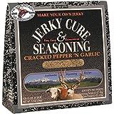 Hi Mountain Jerky Seasoning – Cracked Pepper 'n Garlic Blend – 7.2 Ounces