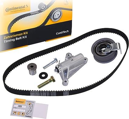 Continental Contitech CT919K4 Kit Correa Distribución, Amortiguador de Vibraciones, Polea Tensora y Polea Inversión/Guía: Amazon.es: Coche y moto
