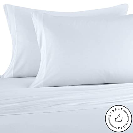 Amazon.com: Pure Beech 100% Modal Jersey Knit 3 Piece Sheet Set
