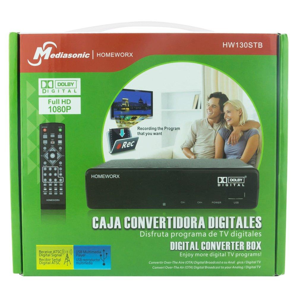 ghdonat.com Mediasonic HOMEWORX HW130STB HDTV Digital Converter ...