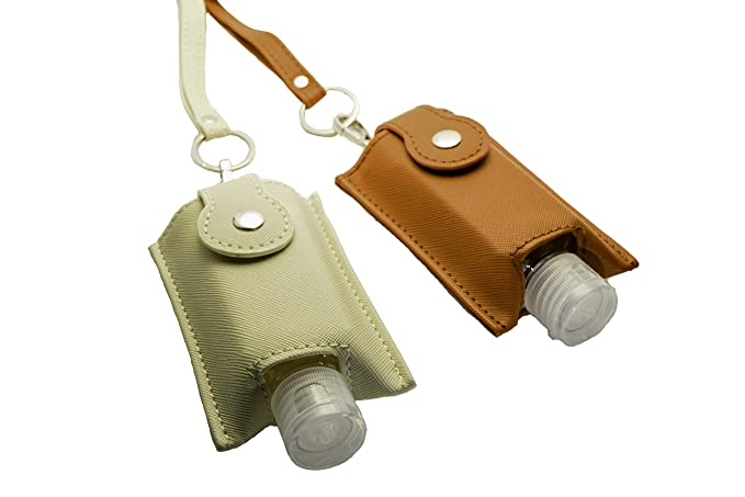 Shark Suede Refillable Sanitizer Key Chain