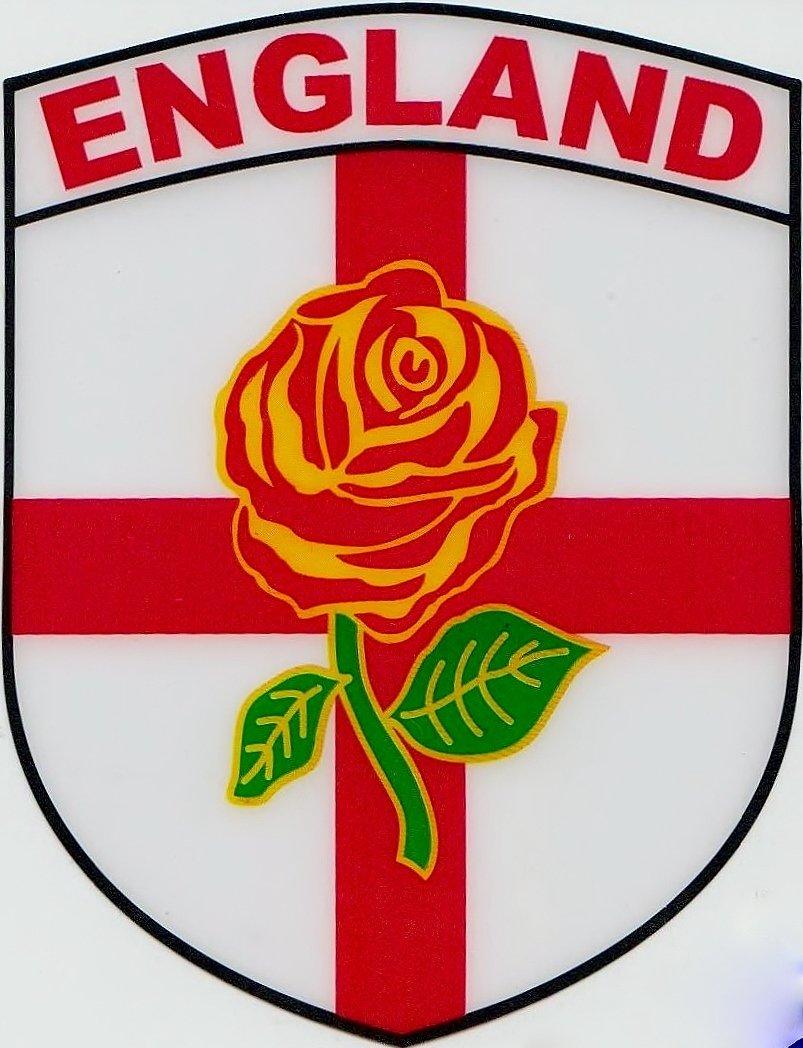 england st george flag interior car window sticker amazon co uk