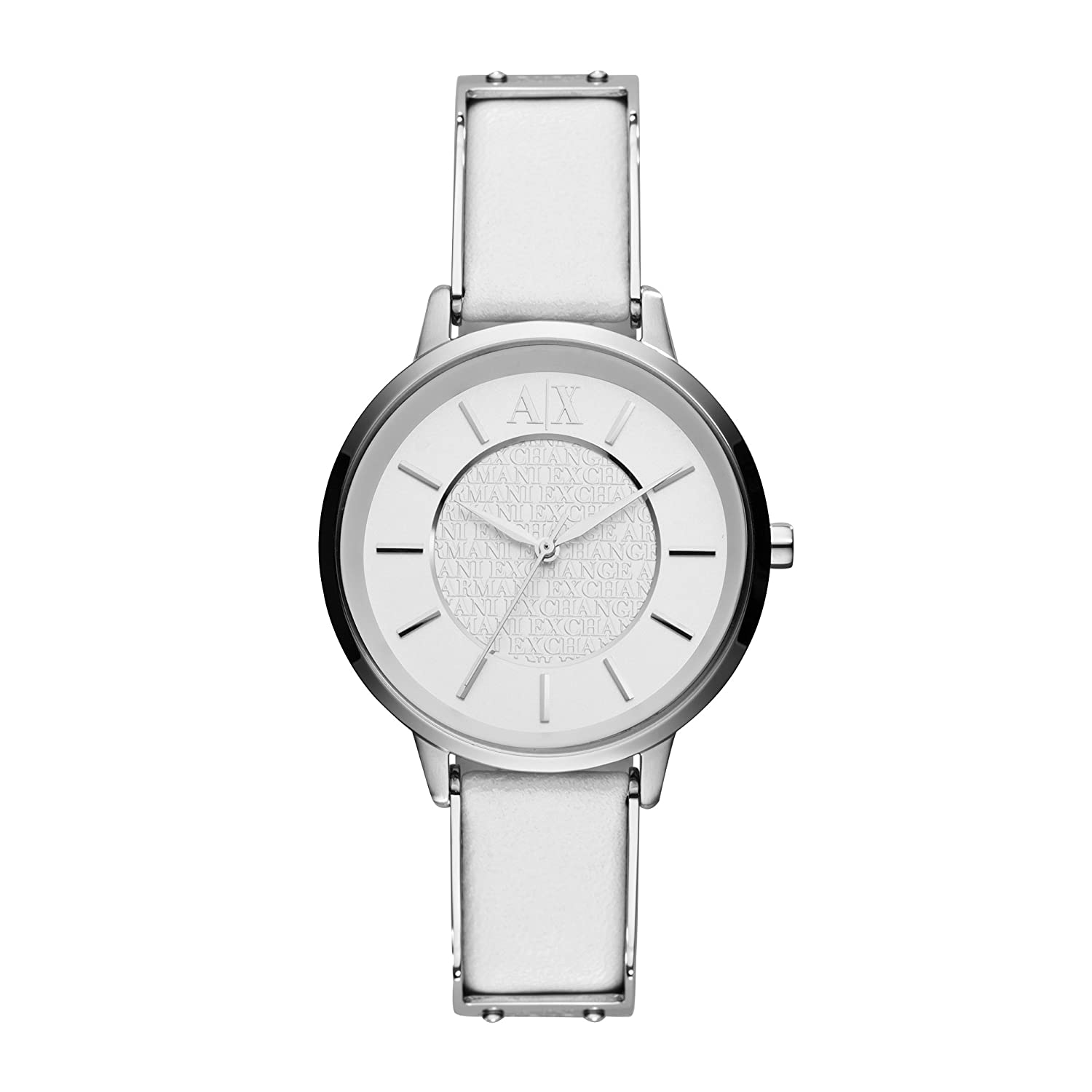 zoom womens white dkny strap ladies watches watch leather