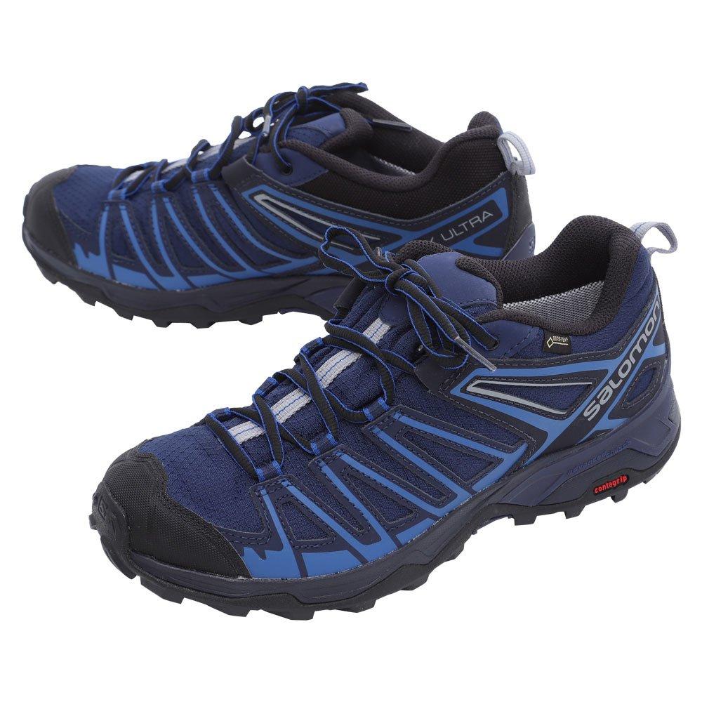 d7d10b9890e SALOMON Men's X Ultra 3 Prime GTX Low Rise Hiking Boots: Amazon.co ...