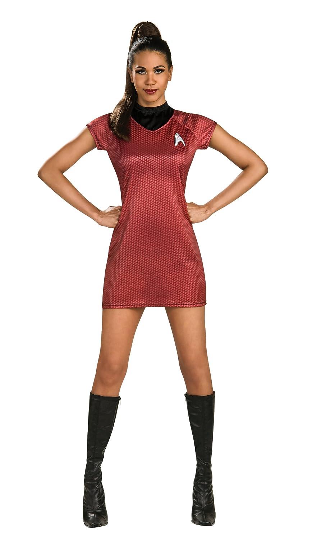 amazoncom rubies costume star trek into darkness uhura dress clothing - Uhura Halloween Costume