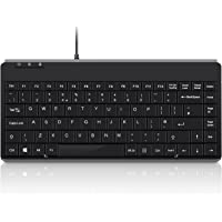 Perixx PERIBOARD-409U Mini Wired Keyboard - USB - 315x147x21mm - UK Layout
