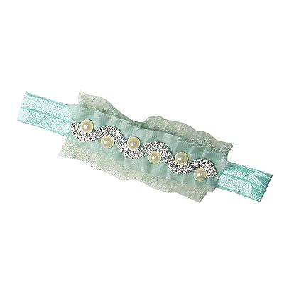 Kirei Sui Baby Rhinestone Pearl Beads Hairband