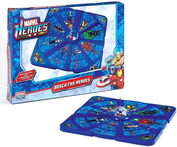 Falomir 646500 - Juego Busca Tu Héroe Marvel: Amazon.es: Juguetes y juegos