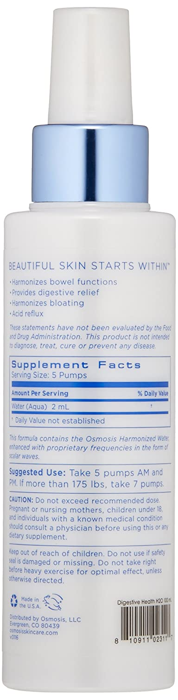 Amazon.com: Osmosis Skincare la salud digestiva Armonizado ...