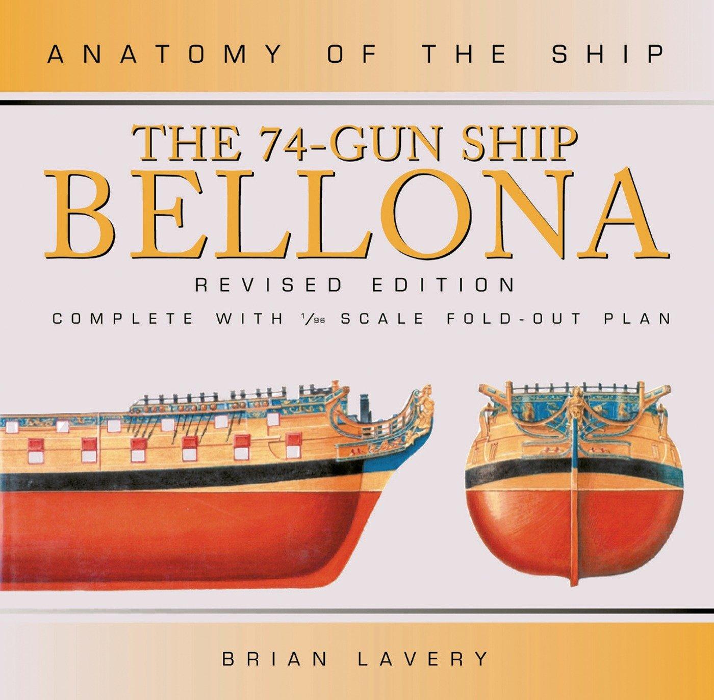 The 74 Gun Ship Bellona  Anatomy Of The Ship