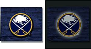 Team Sports America NHL LED Metal Wall Art